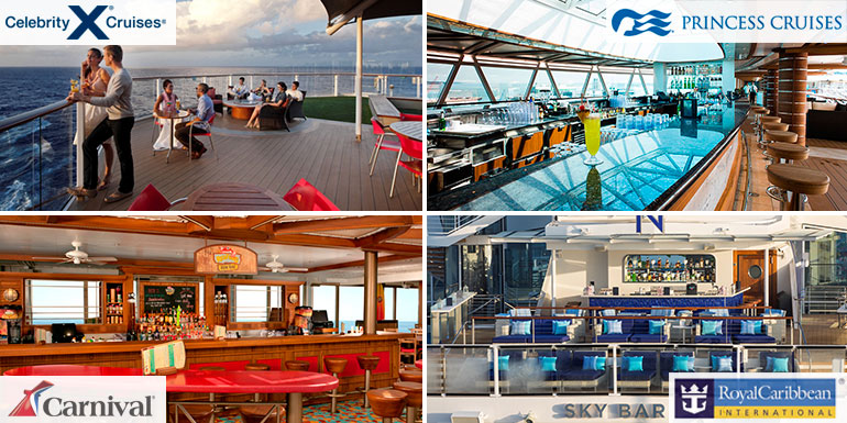 cruise ship lido deck bars