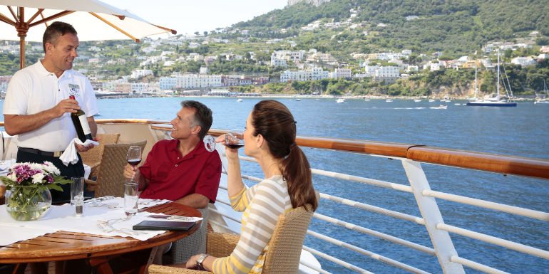 seadream luxury cruise all inclusive drink