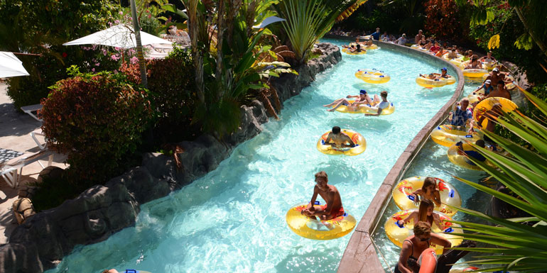 lazy river cruise ship pool