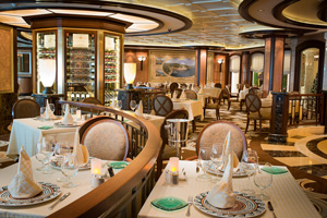royal princess dining