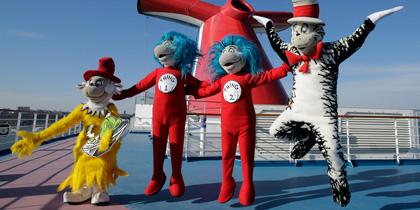 spongebob dora mickey shrek cruise ship