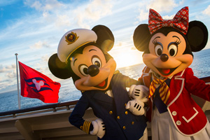 mickey and mini mouse disney cruise