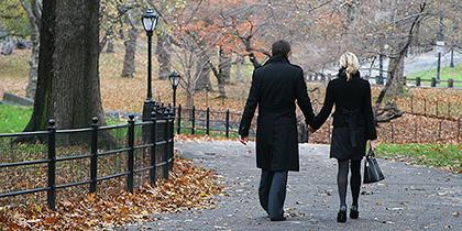 Central Park in Manhattan in Autumn