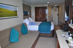 norwegian getaway mid ship balcony cabin