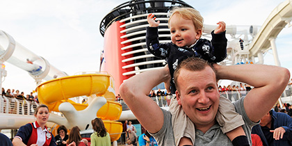 single parent cruise disney line