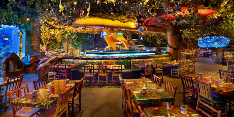 rainforest cafe disney cruise