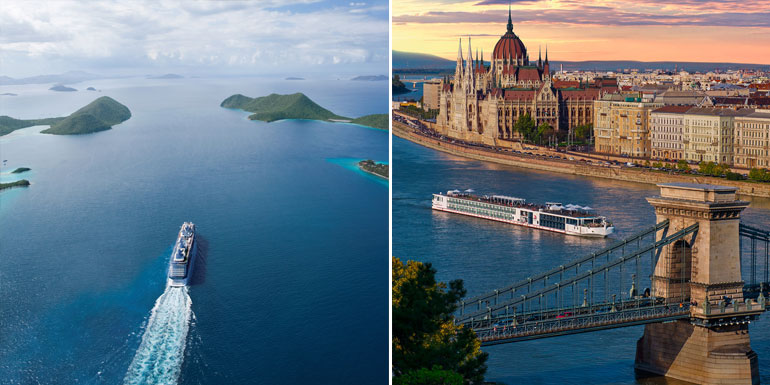 river ocean cruise itineraries