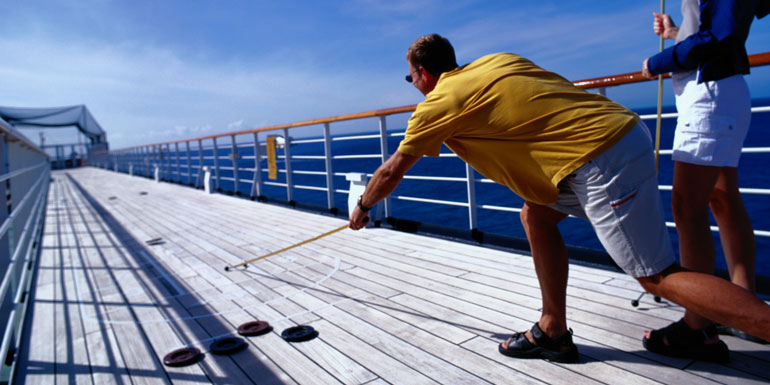 shuffleboard cruise ship