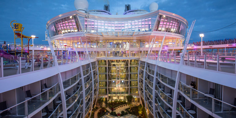 harmony of the seas new cruisers
