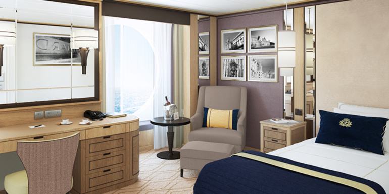 Cruise ship studio cabins the best choice for solo cruisers for Which cruise line has single cabins