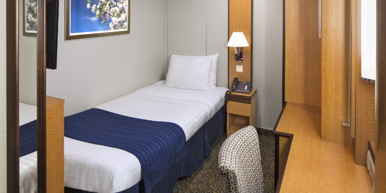 Cruise ship studio cabins the best choice for solo cruisers for Royal caribbean solo cabins