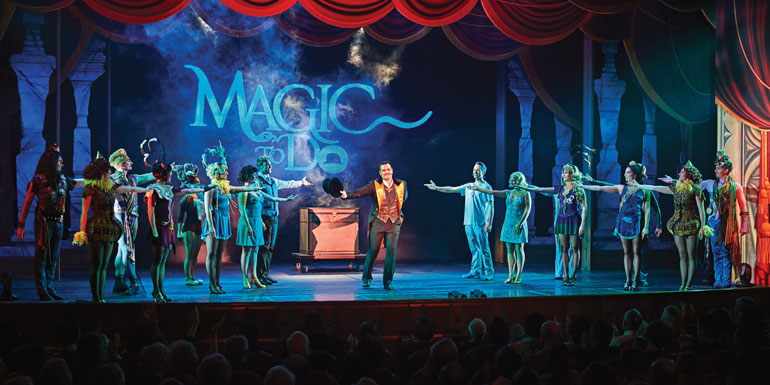 magic to do cruise ship show