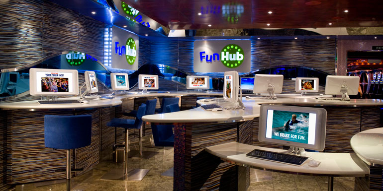 carnival internet cafe cost cruise