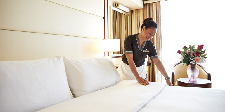 room steward extra cost first cruise