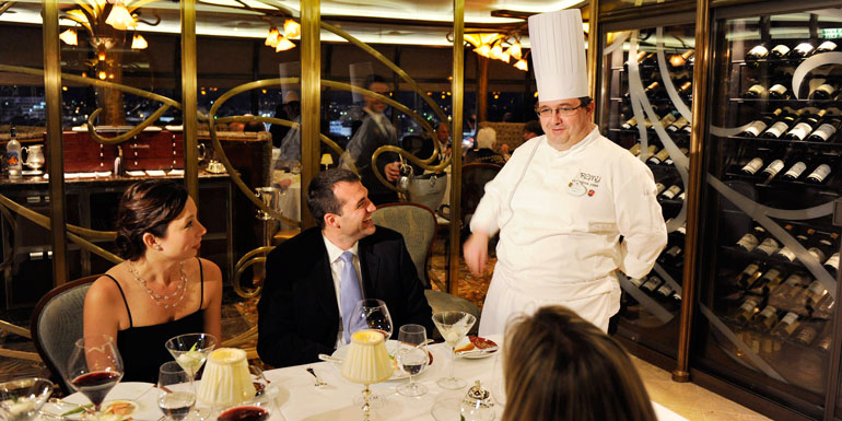 The Best Cruise Ships For Dining