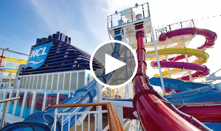 Craziest Cruise Ship Water Slides - Cruise ship slide