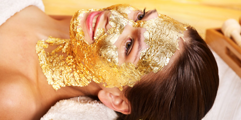gold facial spa ways to splurge