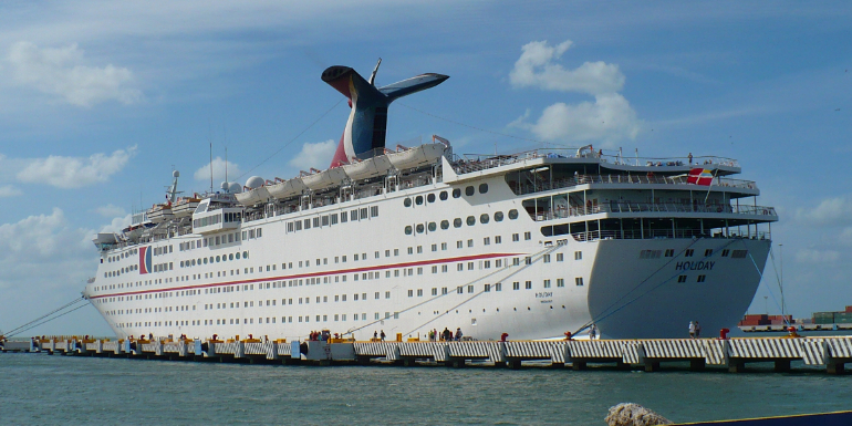 carnival grand holiday cruise ship sale