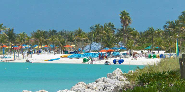 castaway cay activities beach disney island