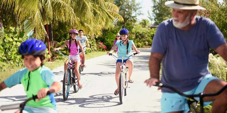 kids bike rides castaway cay