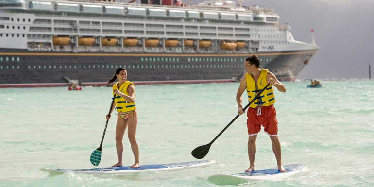 castaway cay paddleboarding