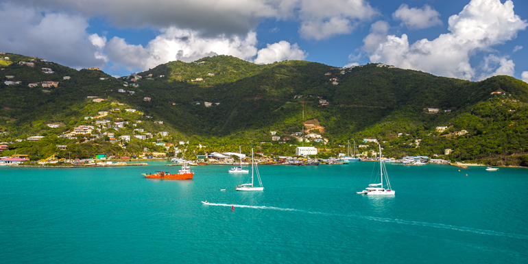 road town tortola cruise coast