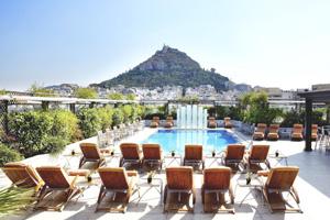 hotel grande bretagne pool acropolis athens