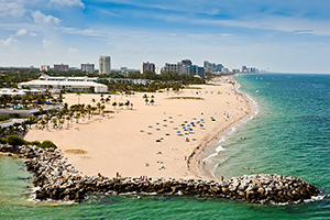 fort lauderdale sandy beach
