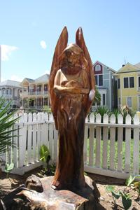galveston texas cruise tree sculpture tour