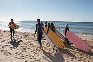los angeles surfers