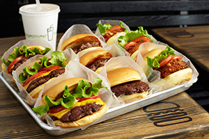 Shake Shack burgers manhattan new york