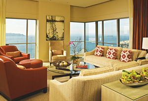 Presidential Suite at Four Seasons Seattle