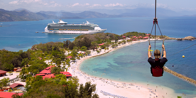 labadee cruise ship private island