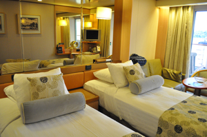 hal ms veendam lanai cabin review