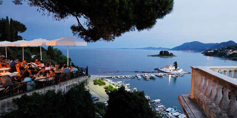 villages corfu greece mediterranean cruise tours