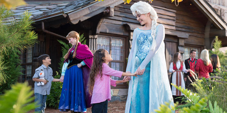 disney cruise line frozen kids