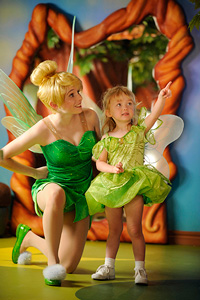 tinkerbell with child disney dream