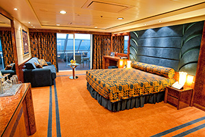 Cabin with balcony MSC Splendida