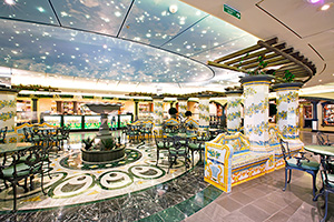 Dining Area MSC Splendida