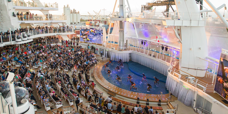 aqua theater harmony of the seas