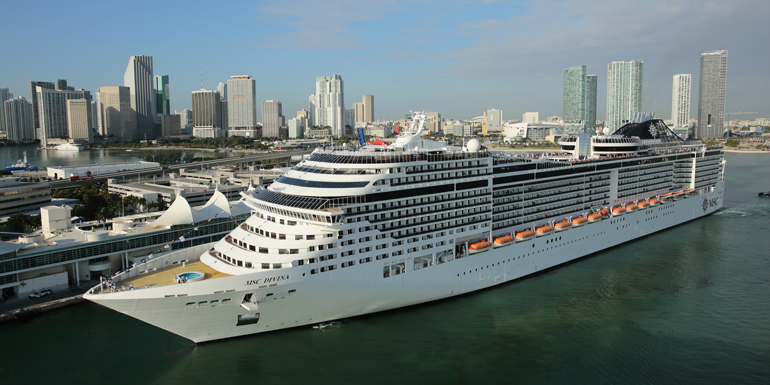 msc divina cruise ship miami port