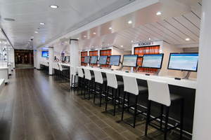 norwegian cruise line refurbished computer lab