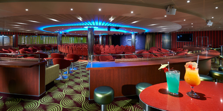 limelight lounge carnival cruise horizon comedy