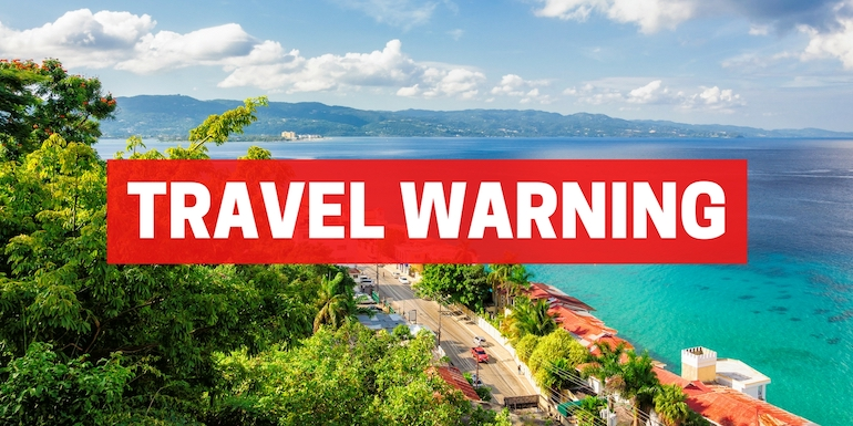 montego bay jamaica port travel warning