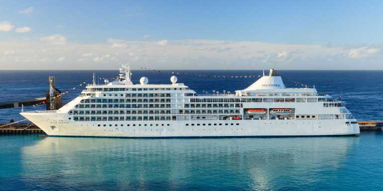 royal caribbean silversea cruises silver whisper