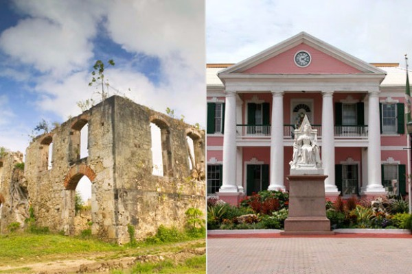 caribbean vs bahamas history museums culture