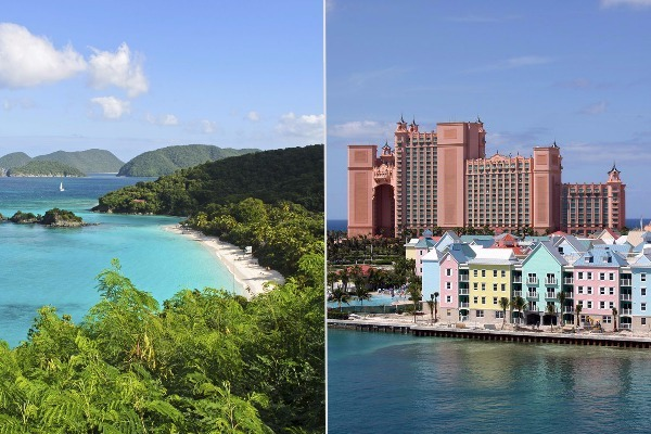 caribbean vs bahamas cruise smackdown