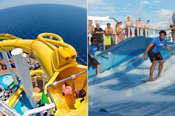 carnival vs royal caribbean cruise activities
