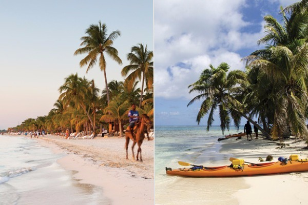 eastern western caribbean difference activities