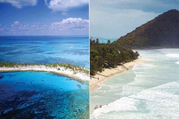 eastern western caribbean beaches difference cruise